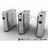 China Auto Retractable Entrance Waist High Turnstile With Face Recognition / Card Reader on sale
