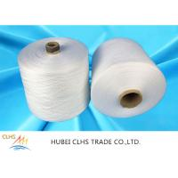 Best Low Shrinkage Polyester Ring Spun Yarn , Core Spun Polyester Sewing Thread wholesale
