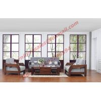 Best Solid Wood Sofa with Upholstery for Luxury Living Room Made in China wholesale