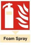 Foam Fire Extinguisher Colour Code