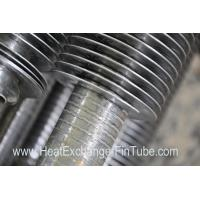 Continuous helical welded Heat Exchanger Fin Tube SA213-TP304H NPS 2'' X SCH80S