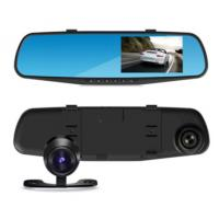China 150° HD Lens Dual Lens car dvr recorder with Auto Motion Detect Record/GPS on sale