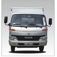 China Box Truck Of Light Duty Dump Truck With 62.5 / 3600 kw / rpm Max Power on sale