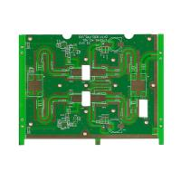 China Microwave Source Module Enig Surface Treatment Pcb Board Prototype Rogers4350 Material on sale