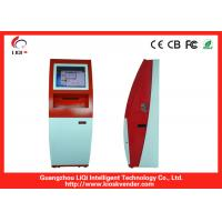China Rugged 17 Inch Self Service Payment Kiosk Cash Payment Kiosk Freestanding on sale