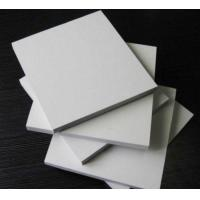 Best Rectangle White Sintra PVC Foam Board , 5mm Moisture Proof Foam Insulation Board wholesale