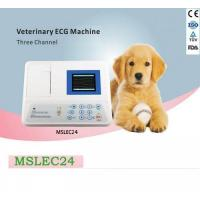 China Portable 3 lead veterinary ecg machine for sale-MSLEC24 on sale