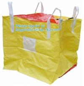 China Polypropylene Woven FIBC Jumbo Bags , Plastic Jumbo Bag Building Material FIBC Bulk on sale