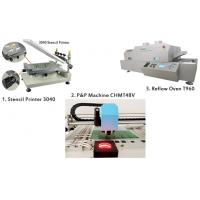 Buy cheap PCB Manufacturing Equipment SMT Production Line Manual Pick And Place Machine product
