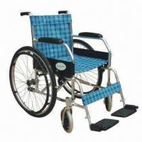 Best Manual Wheelchair with Aluminum Alloy Frame and Oxford Fabric Cushion wholesale