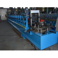 China 45#steel Photovoltaic Support Roll Forming Machine By Chain / Gear Box Driven System  With Panasonic PLC on sale