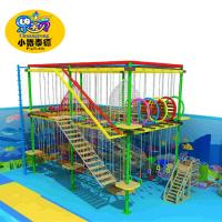 Best Rope Course Outdoor Playground Equipment Commercial For Shopping Mall / Square wholesale