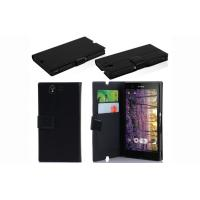 Eco Friendly Mobile Phone Leather Case For Sony Xperia Z L36h / C6603 / C660x / L36i