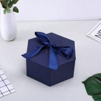 Best Personalized Cardboard small cosmetic box  printing logo  gift box with ribbon wholesale