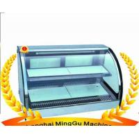 China Curved Food Warming Showcase on sale