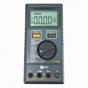Best Insulation Resistance Tester with 1,000/2,500V High Voltage Test wholesale