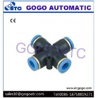 Best 4 Way Pneumatic Air Quick Connect Hose Fittings 0 - 1.0 mpa Working Pressure wholesale
