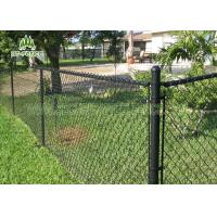Best Residential 6ft Chain Link Panels / Security Fencing Mesh With φ60 Post wholesale