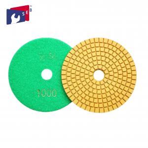 China Rigid Concrete Polishing Pads Dry / Wet Polishing With High Shine 80 - 220mm on sale