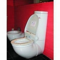 China Heated Toilet Seat with Infrared Sensor and Clean Film Roller on sale