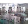 PE / PP bottle Automatic Water Filling Machine 3 in 1 rinser filler capper machine