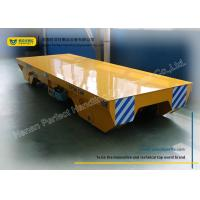 Best Handling system for Manufacturing Industry Rail Transfer Cart , yellow wholesale