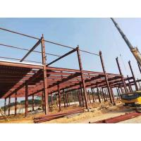 China Customized Industrial Steel Workshop Buildings High Durability And Stability on sale