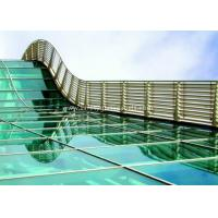 China BS / ASTM Approve 12mm Toughened Safety Glass For Subway Station on sale