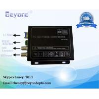 China 3G-SDI with RS422 to fiber converter on sale