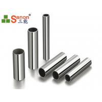 Round Cold Finished Stainless Steel Tube SS Welded Tube Thickness 0.25mm - 3.0mm
