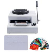 Best 2016 new hot sale low price manual credit card embossing machine wholesale