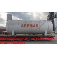 China 2020s best seller-competitive price CLW bullet type 50,000Liters surface lpg gas storage tank for Nigeria, propane tank on sale