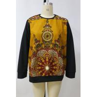 China Dashiki Style Ladies African Wear Tops , Long Sleeve Fleece Sweater Print Top on sale