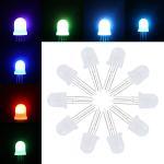 Best P9823 WS2813 WS2818 APA106 DC5V 5mm 8mm through-hole All color digital pixel LED F5 F8 Addressable LED wholesale