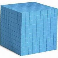 Best Plastic Base 10 Cube, Available in Blue, Measures 10 x 10 x 10cm wholesale