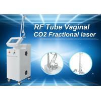 Best White CE Tighten Skin Fractional Co2 Laser Treatment For Stretch Marks , 36 Months Warranty wholesale