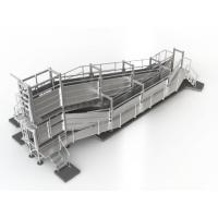 China Standard Outdoor Livestock Loading Ramp, 4.7m Deluxe Portable Sheep Ramp on sale