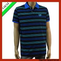 China Mens polo t-shirt , short sleeve polo t-shirt on sale
