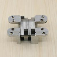 SOSS Type Concealed Hinge Invisible 180 Degree Concealed Hinges For Wooden Doors 90kg/Pair