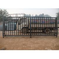 Cheap Low Carbon Steel Pipe Security Garrison Fence Panels Spear Top Steel Fence for sale