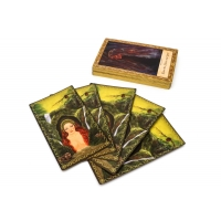 Cheap Eco Friendly 70*120mm Psychic Tarot Cards PMS Printing for sale