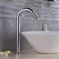 China Automatic Brass Bathroom Sink Tap Free Hands Only Cold Water Automatic Faucet TA330Y on sale