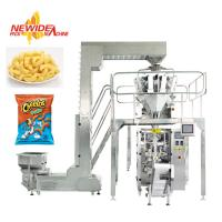 China Servo Motor Automatic Pouch Packaging Machine For Snack Food / Puffed Food on sale