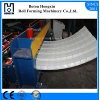 Best Colored Steel Roofing Sheet Crimping Machine For Curving 120 Degree Bend Angle wholesale