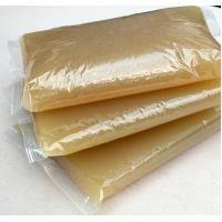 China Hot Melt Animal Jelly Yellow Hot Glue For Book Binding Corn Starch Material on sale