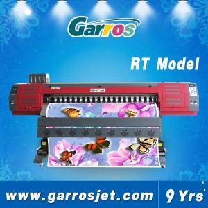 Best 1.8m T-shirt Printer Canvas Printer Digital Fabric Printing Machine Garros RT Model wholesale
