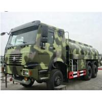 Best 6x6 All Wheel Drive Fuel Oil Delivery Truck , Propane Tank Truck 20cbm Capacity wholesale