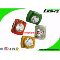 China Customized Mining Hard Hat Lights 13000 Lux With Adjustable Stainless Steel Clip on sale