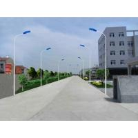 China 40W-80W magnetic induction solar power energy street light pole best solar lamp post outdoor street lamp in china on sale