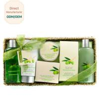 OEM Relaxing Body Care Bath Gift Set , Luxury Bath Products Gift Sets